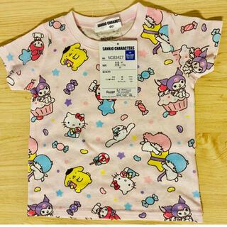 サンリオ(サンリオ)の【キッズ】サンリオキャラクターTシャツ80cm(Tシャツ)
