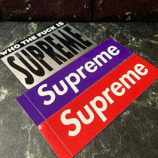 Supreme - supreme Sticker set ⬜︎ #srs2