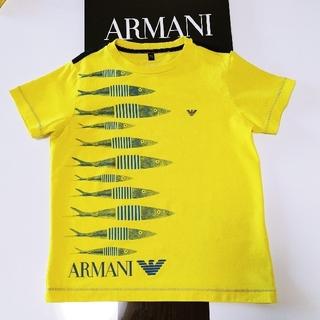 ARMANI JUNIOR - ARMANI キッズ おさかな Tシャツ 5A112