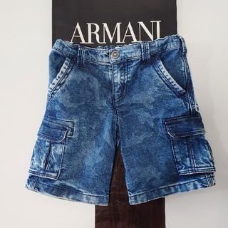 アルマーニ ジュニア(ARMANI JUNIOR)のARMANI キッズ 4A106 デニム ショートパンツ(パンツ/スパッツ)