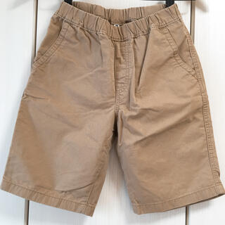 UNIQLO 半ズボン 短パン 140 ベージュ 男の子