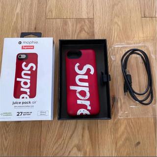 シュプリーム(Supreme)のキムタク着 シュプリーム supreme iPhone8 7 mophie(モバイルケース/カバー)