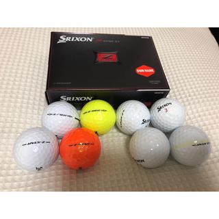 スリクソン(Srixon)のスリクソン Z STAR XV ゴルフボール 12球(ゴルフ)