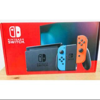 Nintendo Switch - 送料無料 5%クーポン 7月保証 新品 任天堂 スイッチ 本体ネオンブルーレッド