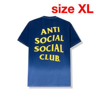 シュプリーム(Supreme)のANTI SOCIAL SOCIAL CLUB GONE BLUE TEE(Tシャツ/カットソー(半袖/袖なし))