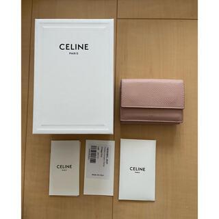 セリーヌ(celine)のセリーヌ ミニウォレット 折り財布 三つ折り財布 ビンテージピンク(財布)