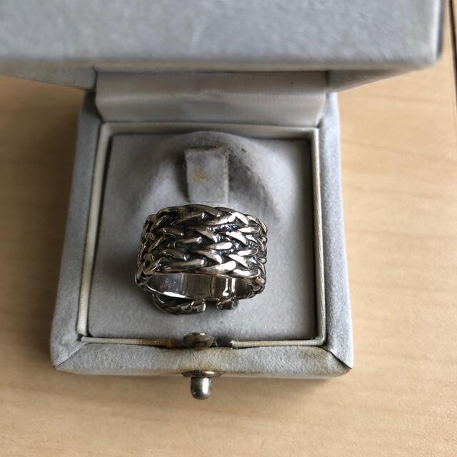 Hermes(エルメス)のヴィンテージ エルメス HERMESリング ディアンヌEURO52サイズ レディースのアクセサリー(リング(指輪))の商品写真