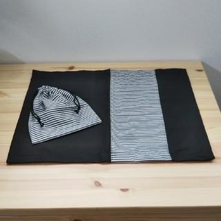 ランチョンマットと巾着袋セット①(外出用品)