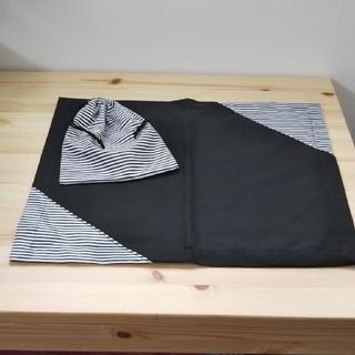 ランチョンマットと巾着袋のセット②(外出用品)