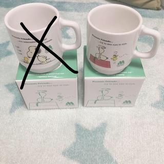 スヌーピー&モスバーガー コラボマグカップ2種セット 新品未使用