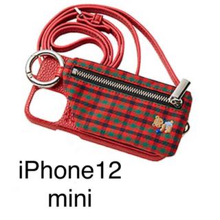 ファミリア(familiar)の新品 ajew familiar  iPhoneケース 12mini(iPhoneケース)