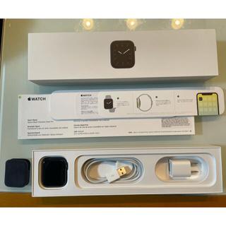 Apple Watch - Apple Watch Series 5  44mm スペースグレイアルミ