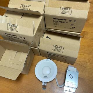 パナソニック(Panasonic)のPanasonic LGB74507LB1 LEDダウンライト 8個セット(天井照明)