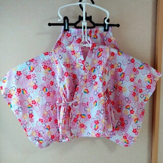 ニシマツヤ(西松屋)の浴衣ドレス 100(甚平/浴衣)