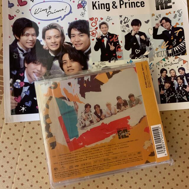 Johnny's(ジャニーズ)のRe:Sense(初回限定盤A)中古 ステッカー付き エンタメ/ホビーのCD(ポップス/ロック(邦楽))の商品写真