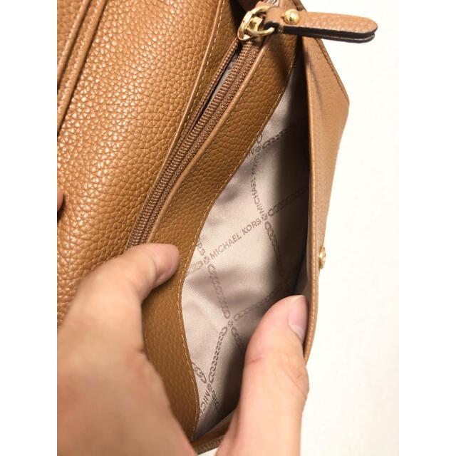 Michael Kors(マイケルコース)の【特価】【半額】美品 マイケルコース ショルダーウォレット レディースのバッグ(ショルダーバッグ)の商品写真