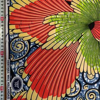 101 ボタニカル アフリカ布 50cm x 110cm バオバブ神戸(生地/糸)
