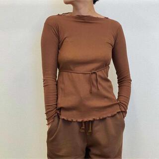 EDIT.FOR LULU - baserange Kosa Wrap Long Sleeve