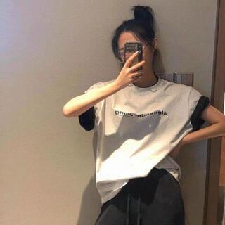 アレキサンダーワン(Alexander Wang)の期間限定【Alexander Wang】半袖のtシャツ(Tシャツ(半袖/袖なし))