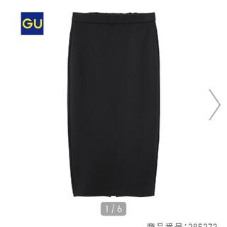 GU - カットソータイトスカート ナロースカート