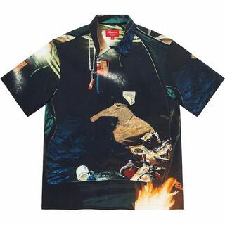 Supreme - M Supreme Firecracker Rayon S/S Shirt
