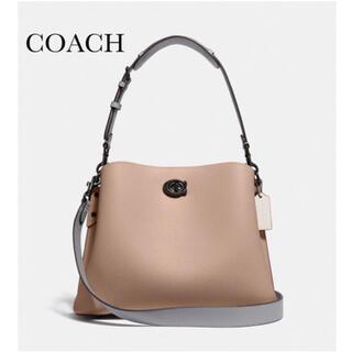 COACH - 新品 COACH ウィロウ ショルダーバッグ ブラウン ハンドバッグ C2590