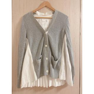 sacai - sacai サカイ Cotton Poplin Cardigan サイズ1