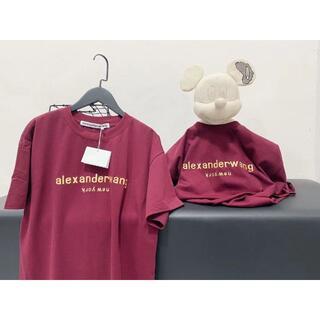 アレキサンダーワン(Alexander Wang)の人気爆品【Alexander Wang】半袖のtシャツ(Tシャツ(半袖/袖なし))