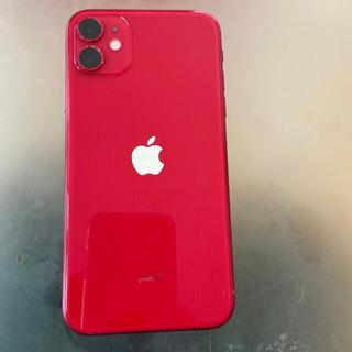 iPhone - iPhone11  64GB  SIMフリー レッド