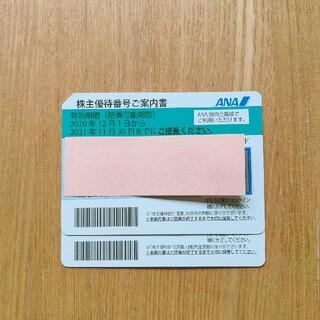 エーエヌエー(ゼンニッポンクウユ)(ANA(全日本空輸))のANA 株主優待券2枚 (その他)