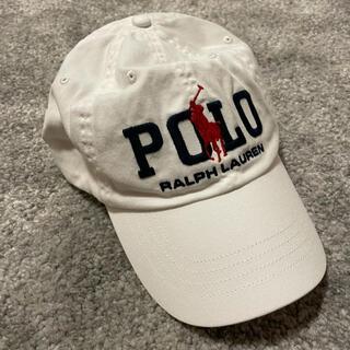 POLO RALPH LAUREN - 【海外購入】90s POLO Ralph Lauren キャップ ラルフローレン