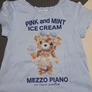 mezzo piano - メゾピアノ トップス110