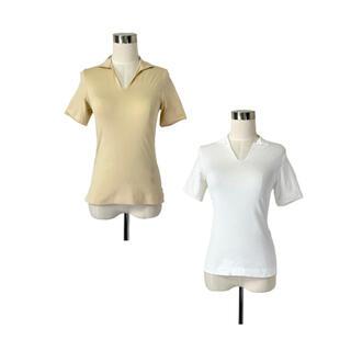 イタリア製 パリコレ 襟付きTシャツ着回しセット