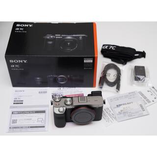 SONY - SONY α7Cカメラズームレンズキット*美品保証付き*