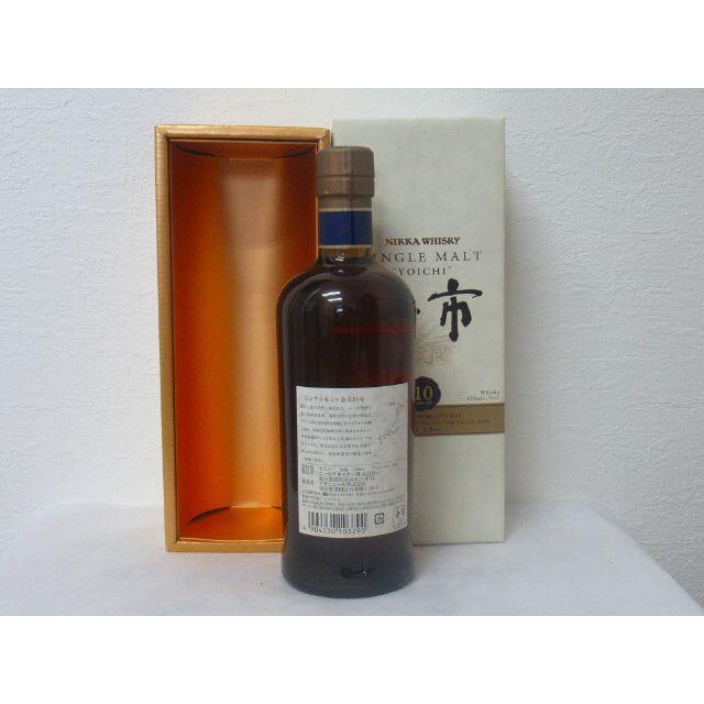 ニッカウヰスキー(ニッカウイスキー)のNIKKA 余市10年 700ml 箱付 新品未開封 食品/飲料/酒の酒(ウイスキー)の商品写真
