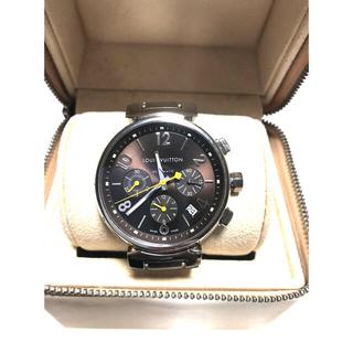 LOUIS VUITTON - ルイヴィトン タンブール クロノグラフ メンズ 腕時計