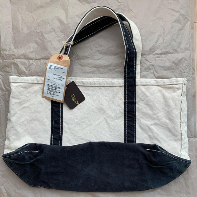 L'Appartement DEUXIEME CLASSE(アパルトモンドゥーズィエムクラス)のアパルトモン L.L.Bean Canvas Tote Bag M プラック レディースのバッグ(トートバッグ)の商品写真