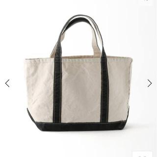 L'Appartement DEUXIEME CLASSE - アパルトモン L.L.Bean Canvas Tote Bag M プラック