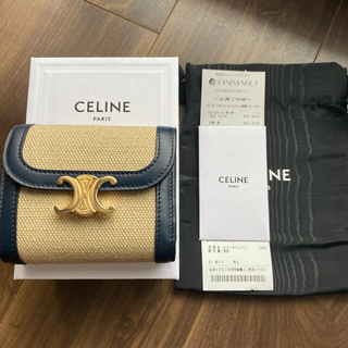celine - 【7/29限定価格】CELINE トリオンフウォレット