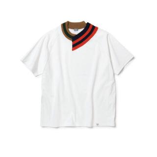 kolor - 【kolor/beacon】rib knit v-neck t-shirt
