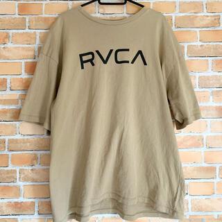 RVCA - RVCA ルーカ ビッグシルエット Tシャツ ベージュ Sサイズ