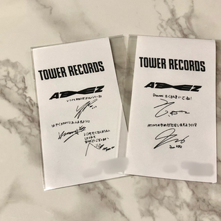 ◎ ATEEZ Dreamers レシート2セット