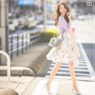 ノエラ(Noela)のNoela♡ノエラ♡フラワープリントスカート(ひざ丈スカート)