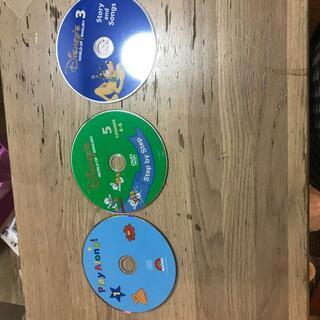 ディズニー(Disney)のtiantian様専用!ワールドファミリー、ディスク3枚セット(知育玩具)