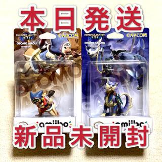 カプコン(CAPCOM)のモンスターハンター ライズ amiibo アミーボ オトモガルク モンハン 2体(ゲームキャラクター)