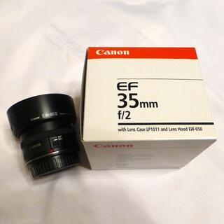 【ジャンク?】CANON EF35mm F2
