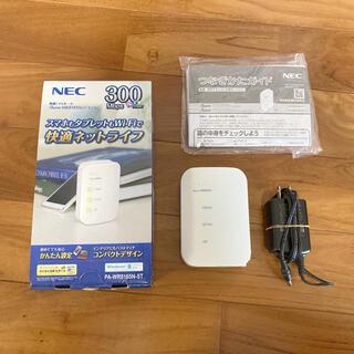 エヌイーシー(NEC)のNEC PA-WR8165N-ST 無線LANルーター(PC周辺機器)