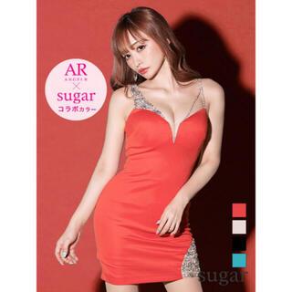 エンジェルアール(AngelR)のAR  ビジュー ドレス Sサイズ 限定(ミニドレス)