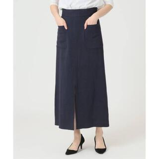 IENA SLOBE - イエナ、リネン混サイドポケットタイトスカート、値下げ‼️