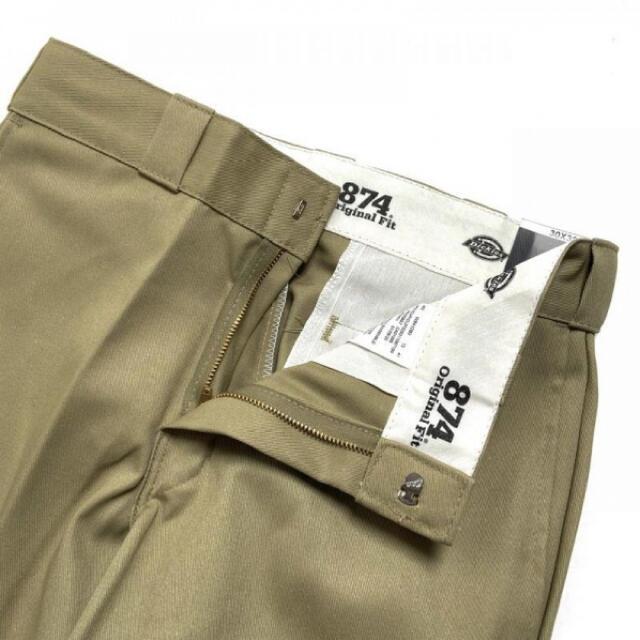 Dickies(ディッキーズ)のDickies Work Pants Khaki  874 ワークパンツ カーキ メンズのパンツ(ワークパンツ/カーゴパンツ)の商品写真